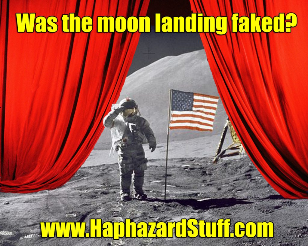 Moon Landing Fake Conspiracy Apollo space