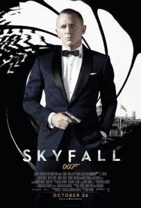 Skyfall UK Poster