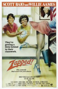Zapped 1982 Scott Baio Movie Poster