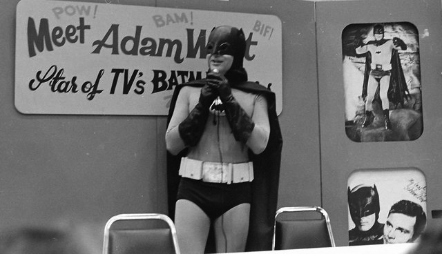 Adam West Batman Public Appearance