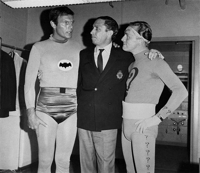 Batman Adam West Bob Kane Frank Gorshin