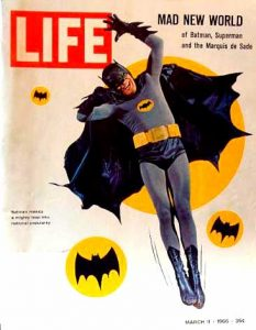 Batman Adam West Life Magazine