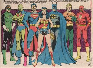 DC Comics Justice League superhero team