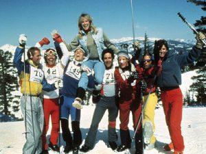Hot Dog Movie 1984 skiing comedy cast