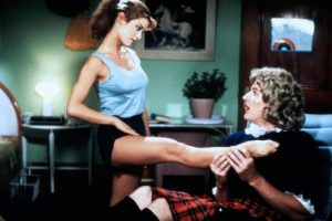 Private School 1983 Betsy Russel Sexy Legs Matthew Modine