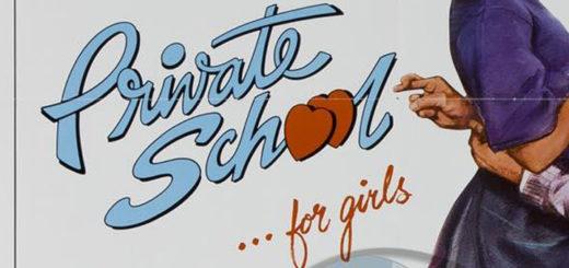 Private School 1983 poster logo