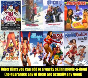 Skiing Movie posters comedy genre