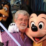 George Lucas Star Wars Disney Mickey Mouse