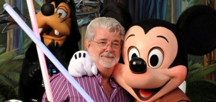 George Lucas Star Wars Disney Mickey Mouse