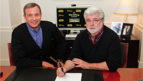 George Lucas sells Star Wars Disney