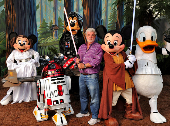 George Lucas sells Star Wars Walt Disney