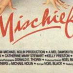 Mischief 1985 poster logo