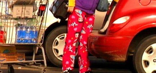 Pajamas in public