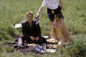 Star Wars Attack of the Clones filming