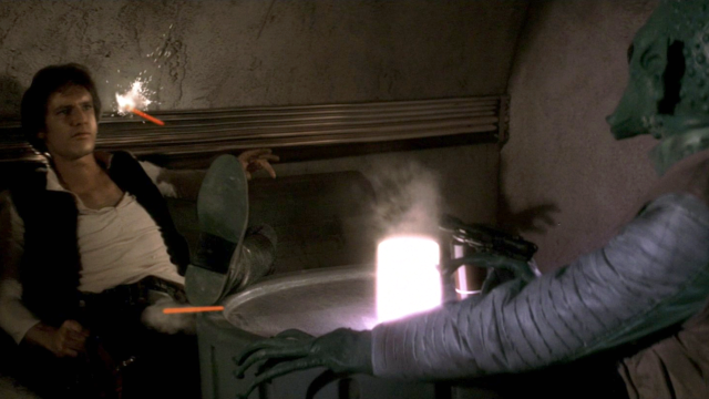 Star Wars Han Solo Shoots Greedo First change