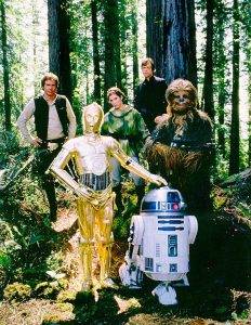 Star Wars Return of the Jedi 1983 Cast