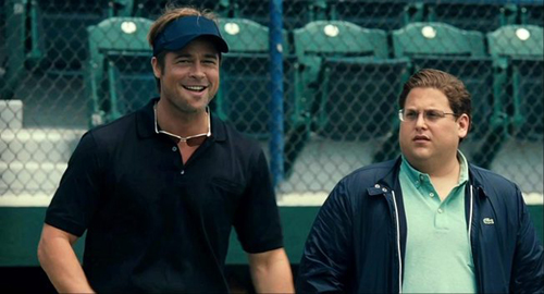 Moneyball 2011 Brad Pitt Jonah Hill baseball movie