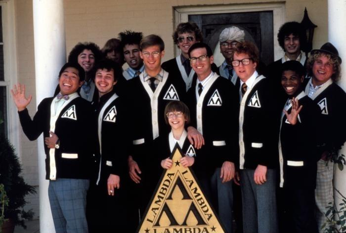 Revenge of Nerds 1984 Lambda black Fraternity