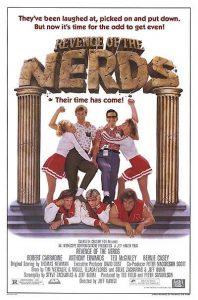 Revenge of the Nerds 1984 movie poster