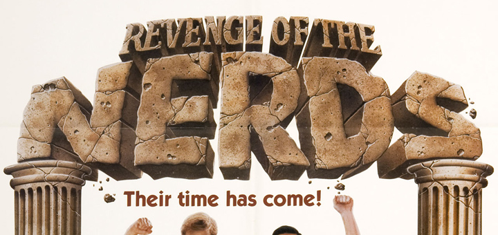 Revenge of the Nerds 1984 poster logo