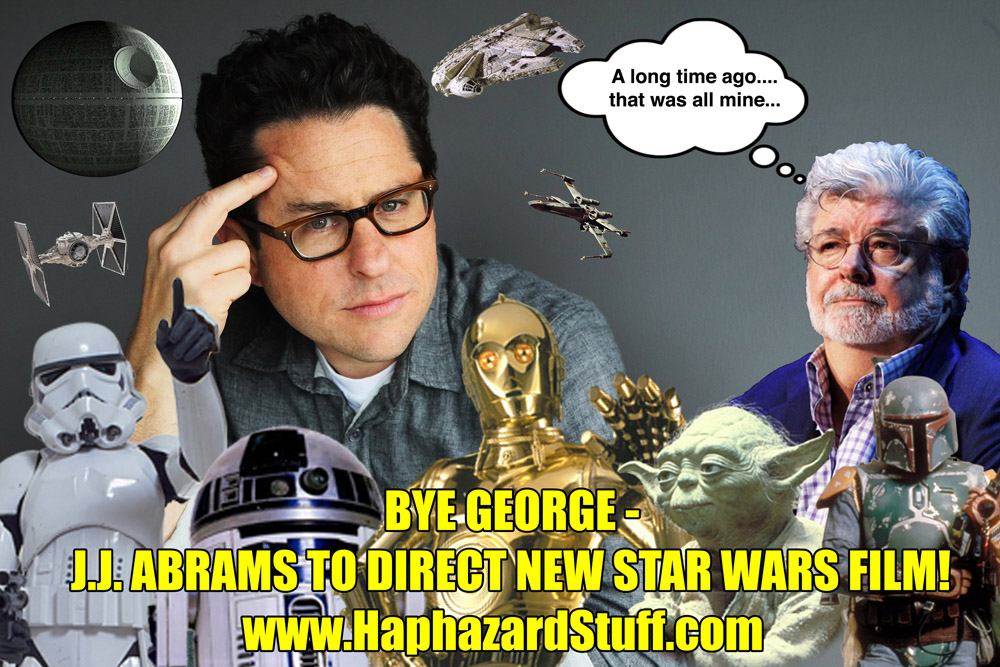 JJ Abrams George Lucsa director new StarWars