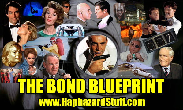 James Bond Blueprint cliches movie HaphazardStuff