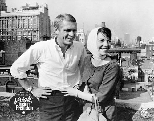 Natalie Wood Steve McQueen Love With The Proper Stranger