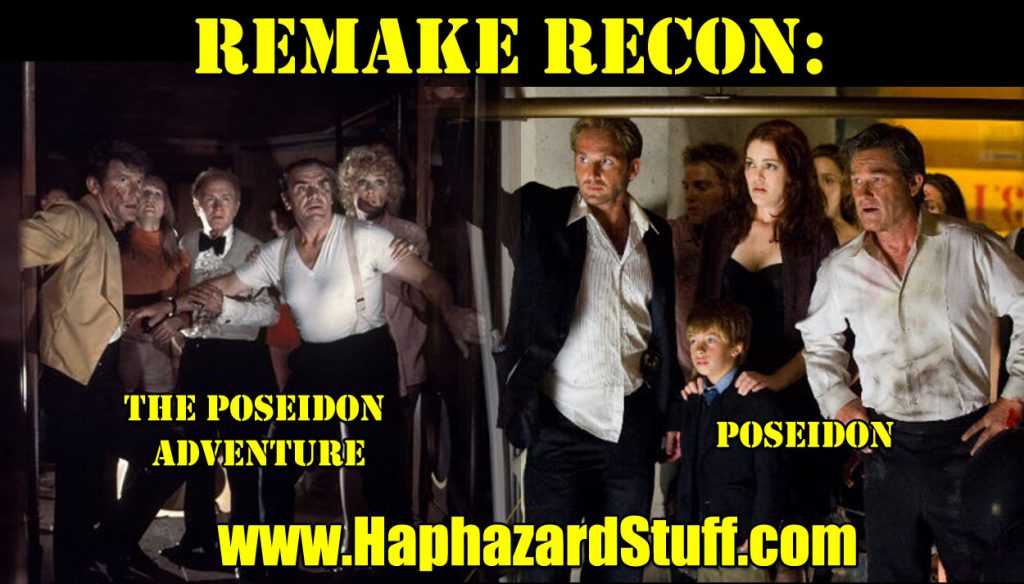 Poseidon Adventure disaster movie 1972 2006 movie remake review