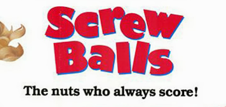 Screwballs 1983 poster logo