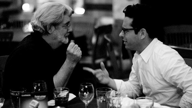Star Wars JJ Abrams George Lucas