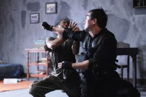 The Raid Redemption 2011 action movie fight scene