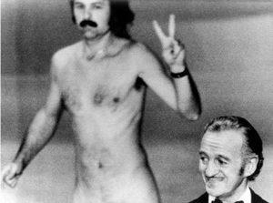 David Niven Oscar Streaker Nude