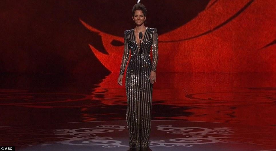 Halle Berry James Bond Oscar Tribute