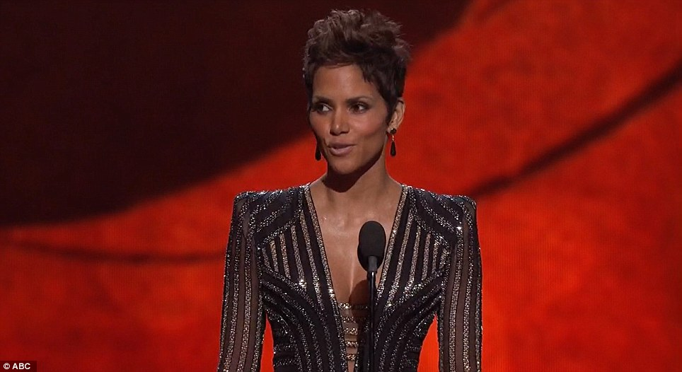 Halle Berry James Bond Tribute Oscars