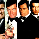 six James Bond actors