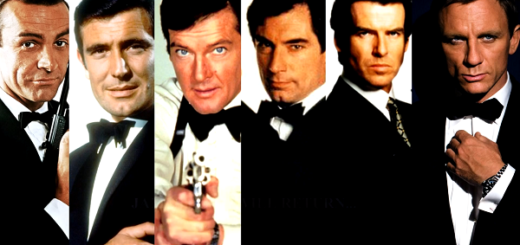 six James Bond actors