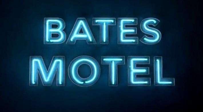 Bates Motel sign logo