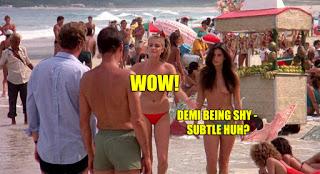 Blame It On Rio 1984 Demi Moore Michelle Johnson Boobs nude scene