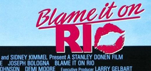 Blame It On Rio 1984 poster logo