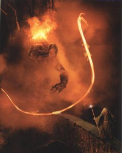 Gandalf Balrog Pass Lord of Rings