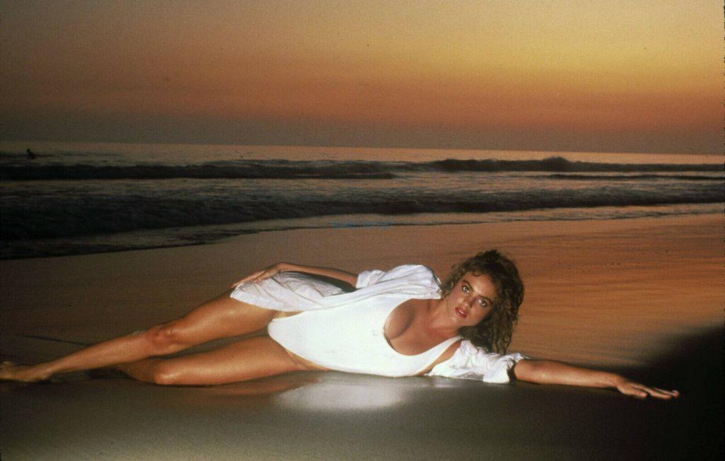 Michelle Johnson Blame It On Rio 1984 sexy beach