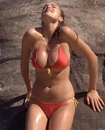 Michelle Johnson sexy body boobs