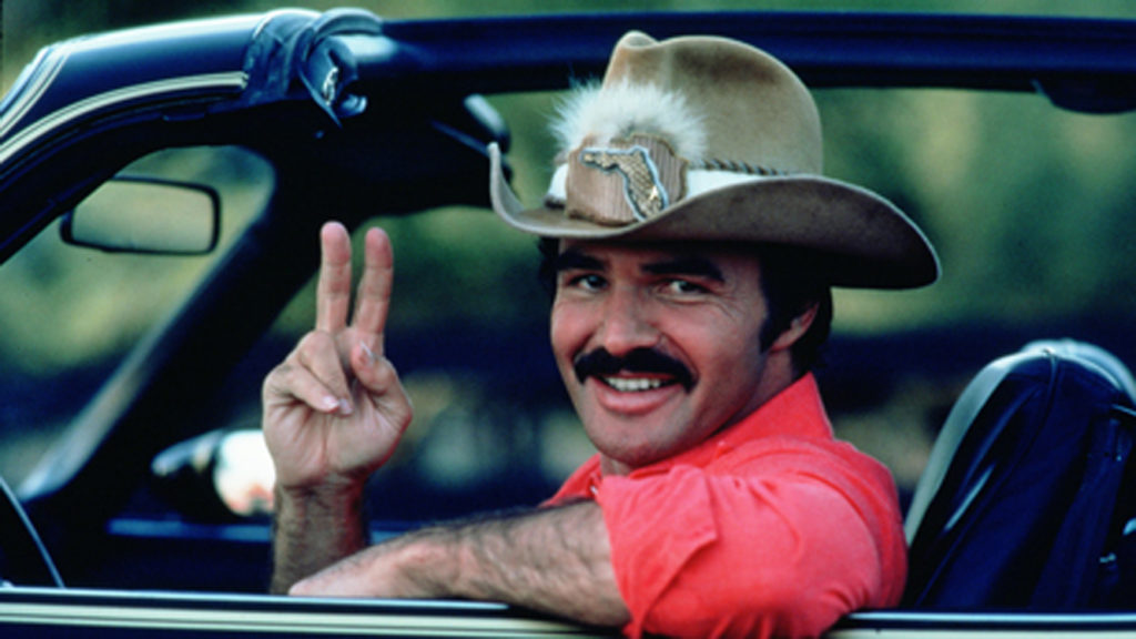 driver courtesy wave etiquette Burt Reynolds