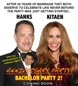 Bachelor Party 2 Poster Tom Hanks Tawny Kitaen