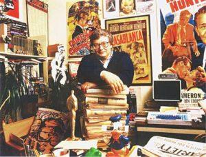 Roger Ebert Film Critic Office Writer