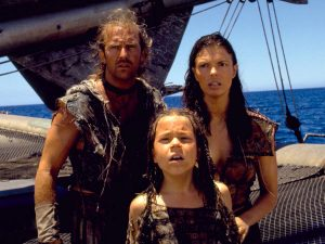 Waterworld 1995 Kevin Costner Jeanne Tripplehorn cast