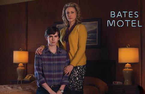 Bates Motel Norman Norma Freddie Highmore Vera Farmiga