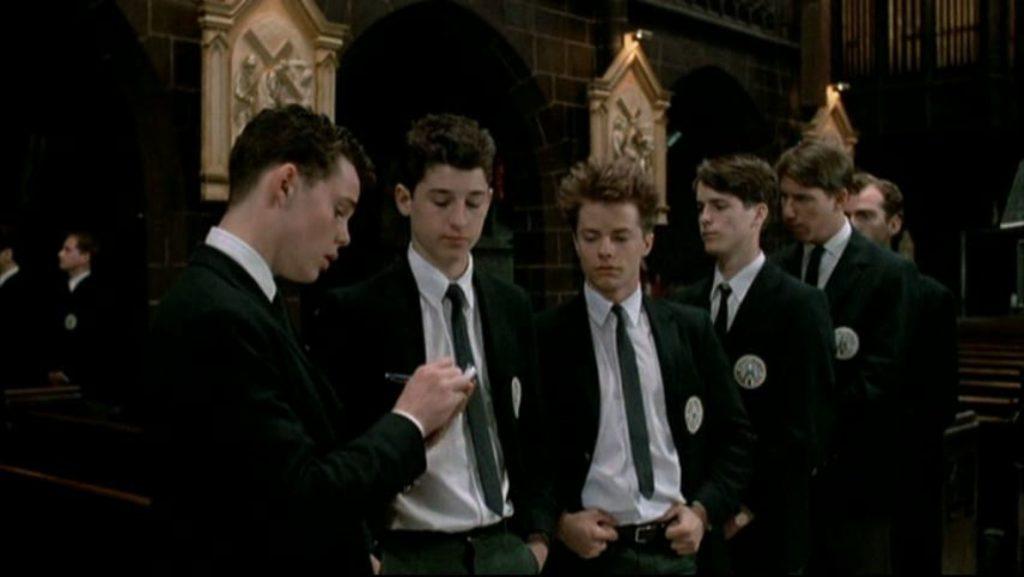 Heaven Help Us Catholic Boys 1985 comedy confession scene