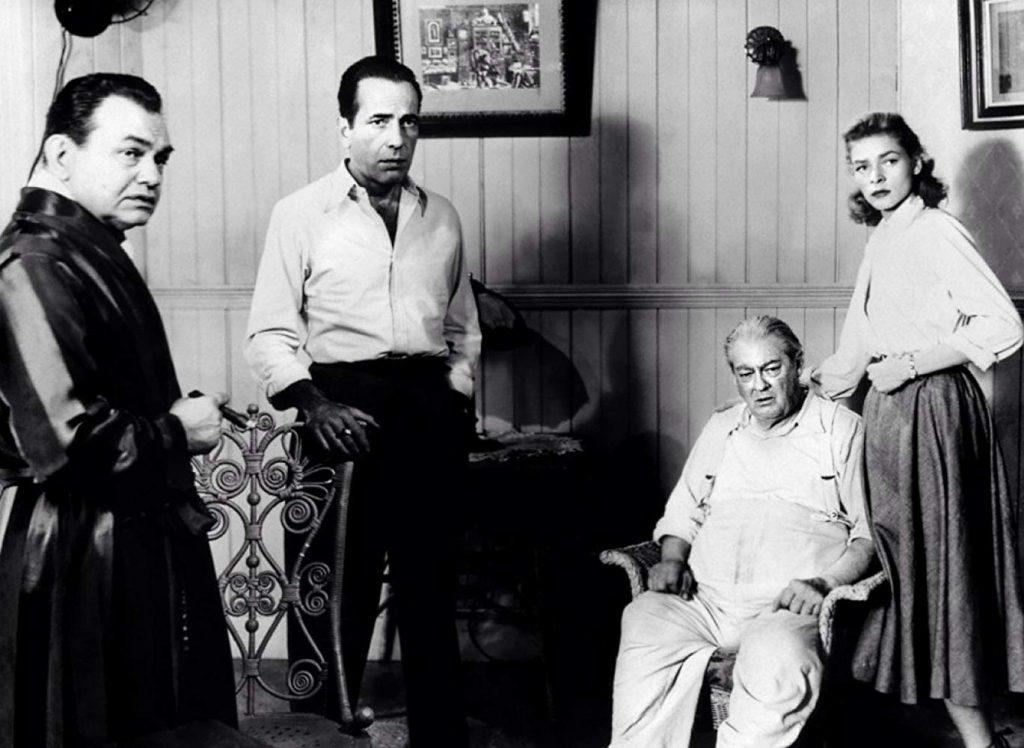 Key Largo 1948 Edward G Robinson Humphrey Bogart Lauren Bacall Lionel Barrymore classic noir