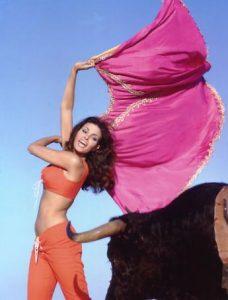 Sexy Raquel Welch Fathom 1967 Bull scene